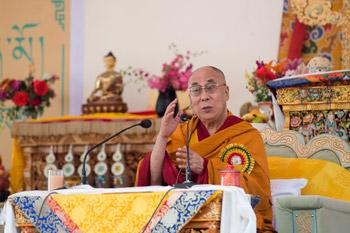 В монастыре Спитук состоялось торжественное открытие летней сессии Высшего буддийского совета