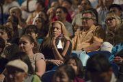 В зале во время утренней сессии, посвященной вопросам изменения климата, в Университете Калифорнии. Ирвайн, штат Калифорния, США. 6 июля 2015 г. Фото: Тензин Чойджор (офис ЕСДЛ)