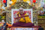 Его Святейшество Далай-лама дарует учения для буддистов из Юго-Восточной Азии. Дхарамсала, Индия. 8 сентября 2015 г. Фото: Тензин Чойджор (офис ЕСДЛ)