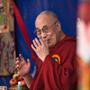 Его Святейшество Далай-лама посетил празднование 10-летия тибетской школы Петон в Дхарамале