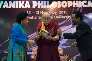Второй день конференции «Квантовая физика и философские воззрения мадхьямаки» в университете им. Джавахарлала Неру