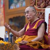 Далай-лама провел предварительные учения в тантрическом монастыре Гьюдмед