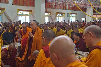 В Гьюдмеде провели молебен о долголетии Далай-ламы