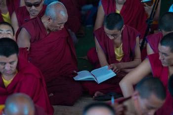 Пятый день учений по 18 коренным текстам и комментариям традиции Ламрим