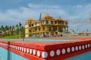 Новое здание офиса и резиденции Гаден Трипы (Гаден Тритхонг Кханг). Мундгод, Индия. 8 декабря 2015 г. Фото: Тензин Чойджор (офис ЕСДЛ)