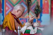 16 капель линии кадам в монастыре Ташилунпо, 30-31 декабря
