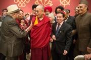 Торжества в честь Далай-ламы в Дели