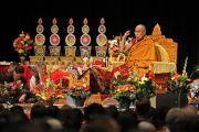 Его Святейшество Далай-лама дарует учения в конференц-центре Миннеаполиса по просьбе местного тибетского сообщества. Миннеаполис, штат Миннесота, США. 21 февраля 2016 г. Фото: Тензин Пунцок
