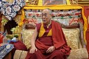 Лекция Далай-ламы в буддийском центре