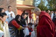 Дээрхийн Гэгээнтэн Далай Ламын Мадисон дахь айлчлалын сүүлийн өдөр. 2016.03.09. АНУ, Висконсин, Мадисон.