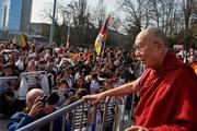 Дээрхийн Гэгээнтэн Далай Ламын Женев дэх айлчлал. Швейцарь, Женев. 2016.03.11.