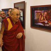 Выставка фотографий «Спасибо, Далай-лама!» в Дели
