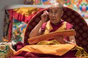 Заключительный день учений Его Святейшества Далай-ламы по поэме Шантидевы «Путь бодхисаттвы». Осака, Япония. 13 мая 2016 г. Фото: Тензин Чойджор (офис ЕСДЛ)