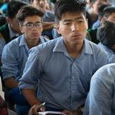 Дээрхийн Гэгээнтэн Далай Лам Төвөдийн сурагч нарт ээлжит номын айлдвараа айлдав