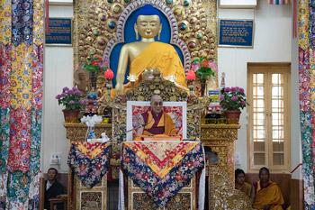 В Дхарамсале прошел второй день учений по поэме «Древо веры. Самопобуждение [к практике]»