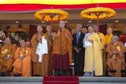 Торжественная церемония открытия буддийского храма Dieu Ngu