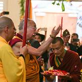 Дээрхийн Гэгээнтэн Далай Лам Диеү Гү сүмийн нээлтэнд оролцов