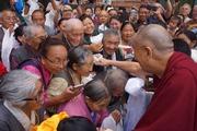 По завершении визита в Солт-Лейк-Сити Далай-лама отправился в Боулдер