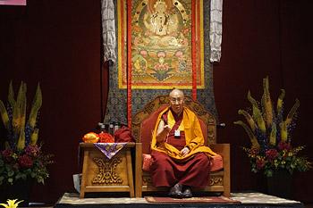 Далай-лама встретился с тибетцами из Тибетской ассоциации Юты