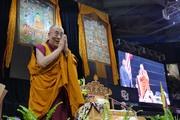 Далай-лама даровал учения и прочел публичную лекцию в Университете Колорадо