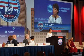Его Святейшество дал интервью Леди Гаге и выступил с обращением на конференции мэров американских городов