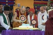 Дээрхийн Гэгээнтэн XIV Далай Ламын 81 насны ойн баярын фото сурвалжлага. Энэтхэг, Карнатака, Мундгод, Брайбун хийд. 2016.07.06.