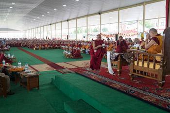 В Мундгоде отпраздновали 81-й день рождения Его Святейшества Далай-ламы