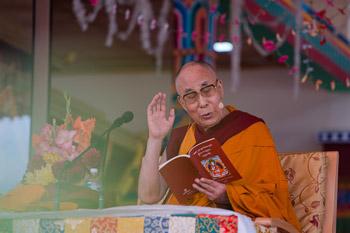 В Ладаке начались четырехдневные учения Далай-ламы по поэме Шантидевы «Путь бодхисаттвы»