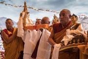 Молебен о долгой жизни Далай-ламы и посвящение Авалокитешвары