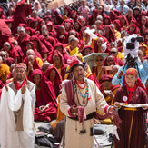 Завершились учения Далай-ламы по поэме Шантидевы «Путь бодхисаттвы»