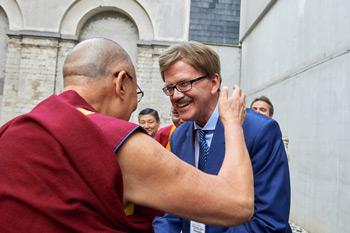 Далай-лама прибыл в Брюссель и принял участие в торжественном открытии 7-й Международной конференции групп поддержки Тибета