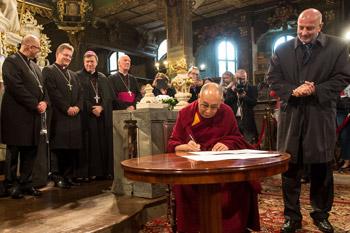 В Свиднице в Церкви мира прошло празднование Международного дня мира