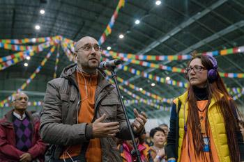 Далай-лама начал учения по сочинению Дхармакирти «Праманаварттика» в Риге