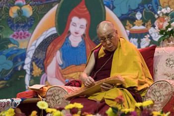 В Риге состоялся второй день учений по трактату Дхармакирти «Праманаварттика»