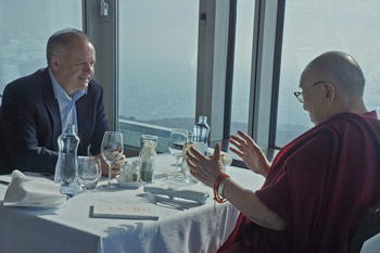 В Братиславе Далай-лама посетил университет им. Коменского и прочел публичную лекцию