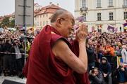 Далай-лама прибыл в Прагу