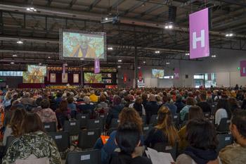 Далай-лама даровал учения в Милане