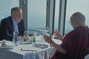 Его Святейшество Далай-лама во время встречи с Андреем Киской, президентом Словакии. Братислава, Словакия. 16 октября 2016 г. Фото: Джереми Рассел (офис ЕСДЛ)