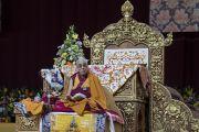 Его Святейшество Далай-лама дарует учения по сочинениям Чже Цонкапы. Милан, Италия. 21 октября 2016 г. Фото: Тензин Чойджор (офис ЕСДЛ)