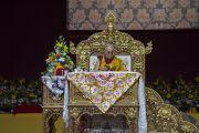Его Святейшество Далай-лама дарует посвящение Авалокитешвары. Милан, Италия. 22 октября 2016 г. Фото: Тензин Чойджор (офис ЕСДЛ)