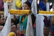 Молебен о долгой жизни Далай-ламы