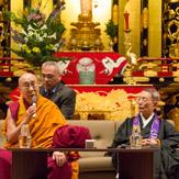 Далай-лама прибыл в Японию и посетил Киото