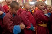 Далай-лама посетил главный монастырь Монголии Гандан Тегченлинг