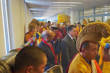Далай-лама посетил монастырь Гандан Тегченлинг