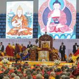 Далай-лама даровал буддийские учения в столице Монголии