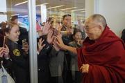 Заключительный день визита Далай-ламы в Улан-Батор