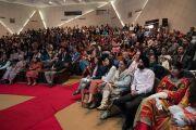 Аудитория во время 26-й ежегодной конференции индийского общества по лечению глаукомы. Палампур, штат Химачал-Прадеш, Индия. 5 ноября 2016 г. Фото: Тензин Чойджор (офис ЕСДЛ)