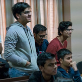 Далай-лама посетил Школу государственного права университета Индии