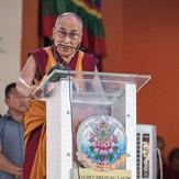 Далай-лама принял участие в праздновании 600-летия со дня основания монастыря Дрепунг