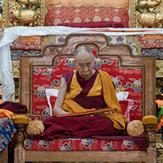 В монастыре Ганден Лачи совершили молебен в память об уходе из жизни Чже Цонкапы